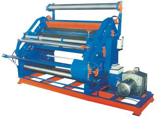 Single Face Paper Corrugation Machine (Bearing Mounted)